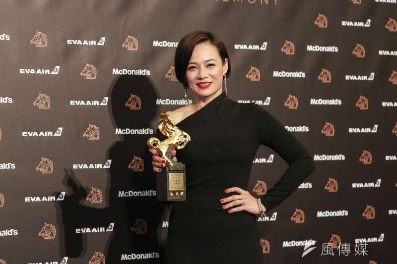 20191123-第56屆金馬獎頒獎典禮,最佳女主角,楊雁雁/熱帶雨。(簡必丞攝)