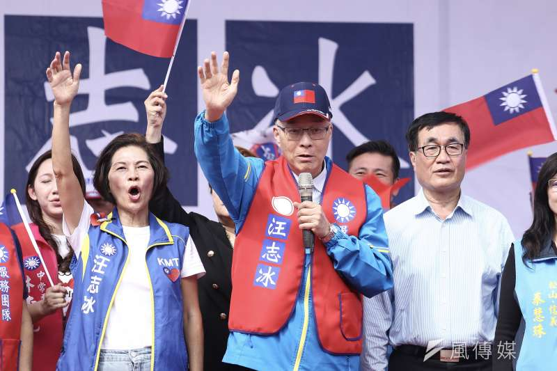 民黨主席吳敦義炮製的不分區立委名單,讓他自己飽受批評。(陳品佑攝)