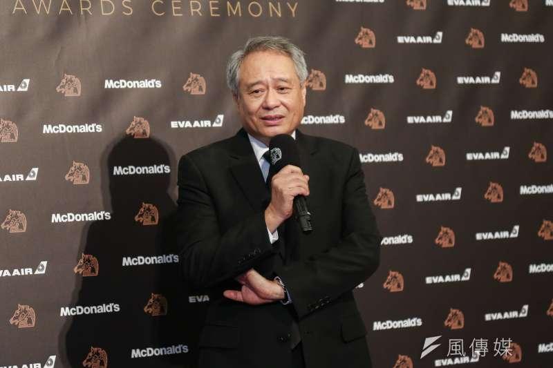 20191123-第56屆金馬獎頒獎典禮,金馬執委會主席李安。(簡必丞攝)
