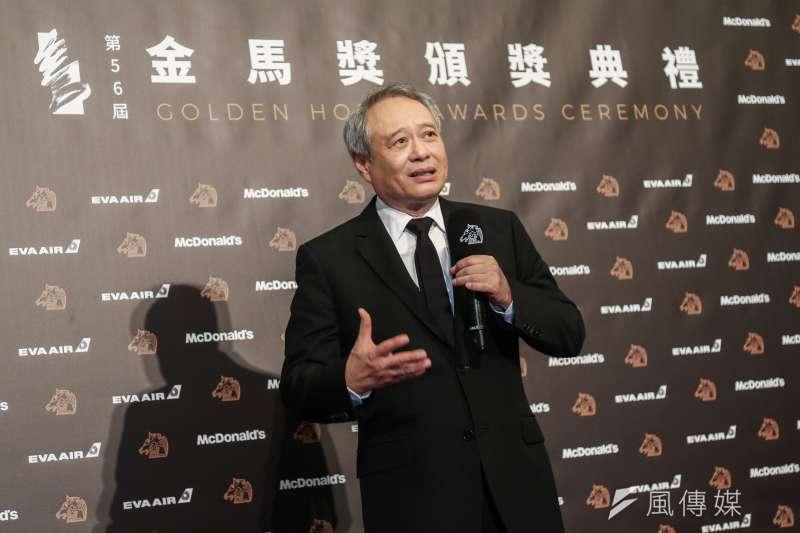 導演李安推薦的2019年度代表字是「亂」。(資料照,簡必丞攝)