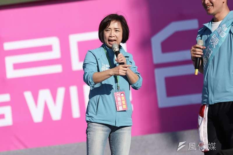 意外捲入「同居疑雲」的民進黨立委何欣純(見圖)日前激起網路高聲量。(資料照,簡必丞攝)