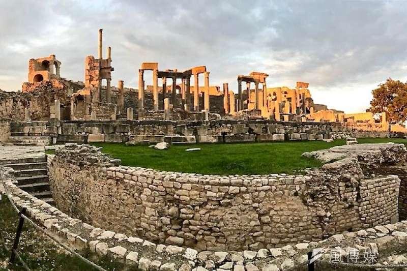 羅馬人仰賴「公民權」定義自己。圖為羅馬帝國在迦太基Cartagine的遺址。(資料照,奇多神父提供)