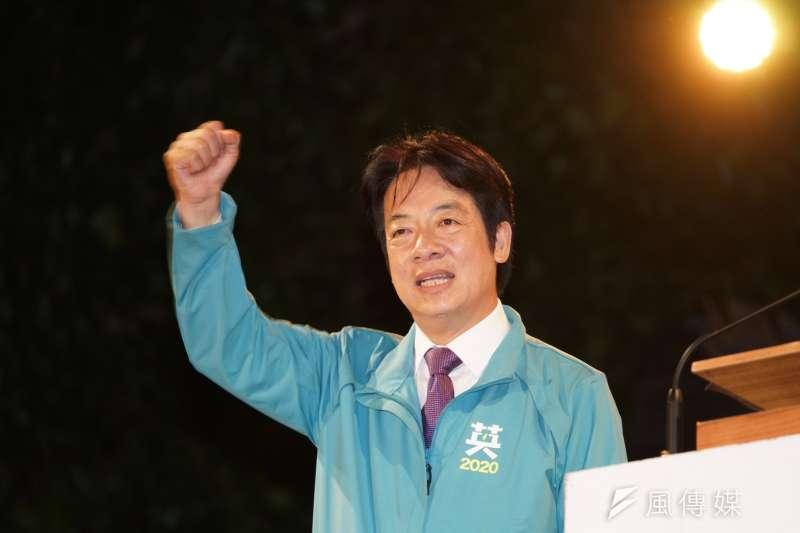 民進黨副總統候選人賴清德(見圖)近日除了開始各地助選行程,在網路上也重新出發,近日重新經營Instagram。(盧逸峰攝)