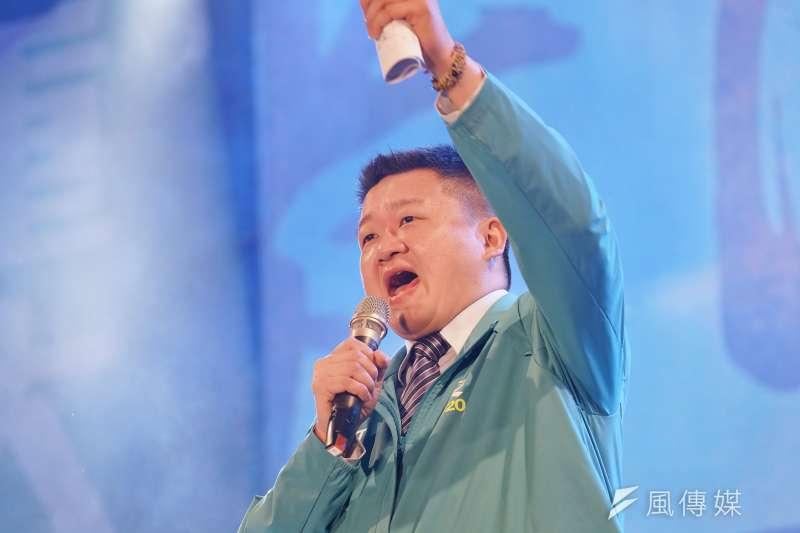屬於民進黨海派、投入參選新北市黨部主委的議員何博文表示,他身為黨內青壯世代,必須更積極回應基層民意。(資料照,盧逸峰攝)