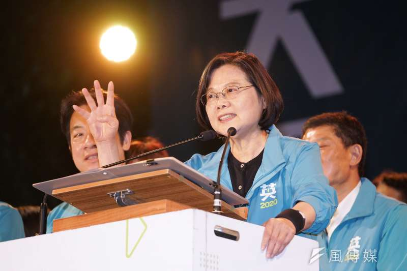 筆者以三點指出,總統蔡英文(見圖)的所作所為就像「台版習近平」,是對台灣民主最大的威脅。(資料照,盧逸峰攝)