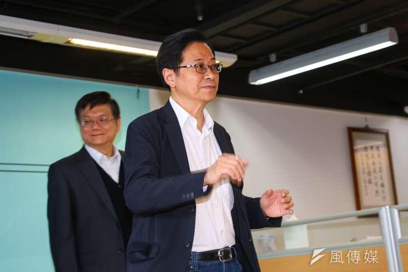 20191126-國民黨副總統參選人張善政26日舉行副總統競選辦公室成立記者會。(顏麟宇攝)