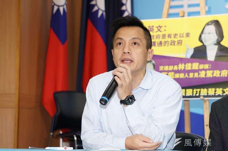 國民黨台北市議員李明賢(見圖)認為同黨不分區立委吳斯懷該知所進退,否則國民黨2022就不用選了。(資料照,盧逸峰攝)
