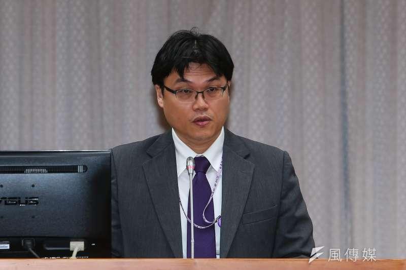 20191128-教育部高教司長朱俊彰28日出席「確立違反學術倫理案件客觀公正之處理原則」公聽會。(顏麟宇攝)