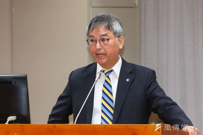 20191128-政大副校長王文杰28日出席「確立違反學術倫理案件客觀公正之處理原則」公聽會。(顏麟宇攝)