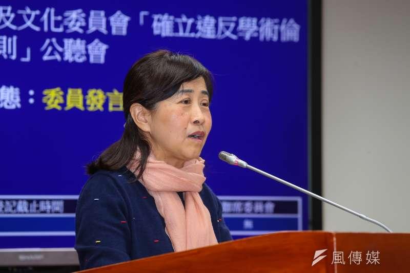 國民黨立委林奕華指出,台商學校的高三生以及現在仍留在中國回不來的台灣籍高三生,同樣需要「安心就學」方案。(資料照,顏麟宇攝)