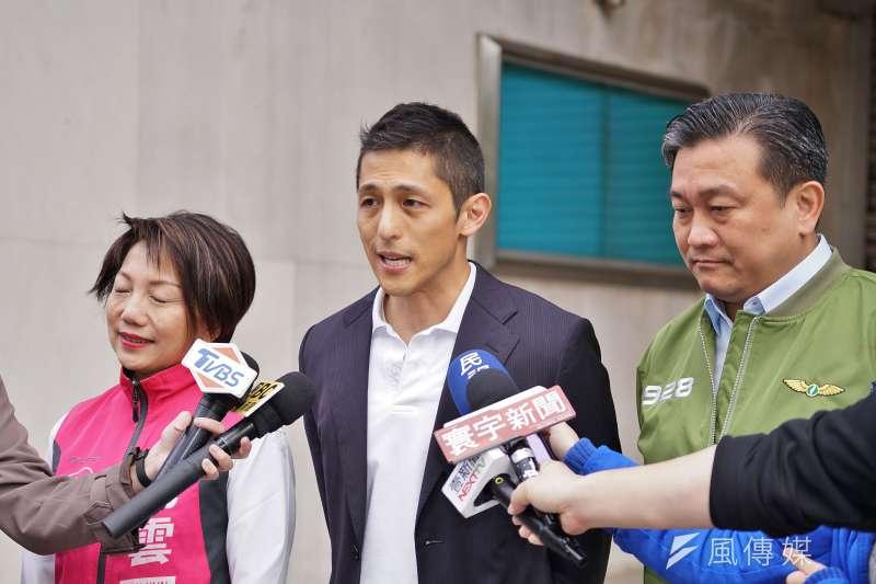 20191129-立委參選人吳怡農29日出席「下架吳斯懷 全民動起來」記者會。(盧逸峰攝)
