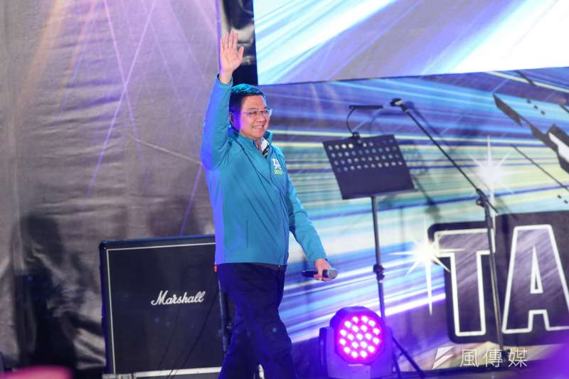 20191129-民進黨主席卓榮泰29日出席台灣搖滾派對,為台北市八位立委參選人站台。(顏麟宇攝)