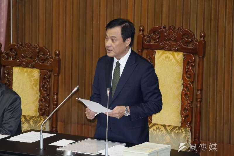 20191129-立法院長蘇嘉全29日主持院會。(盧逸峰攝)