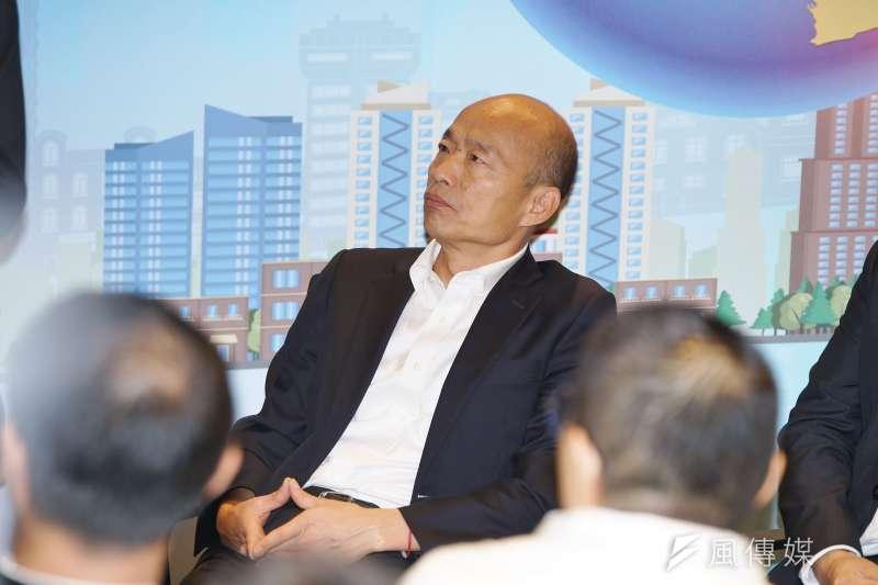 台灣民意基金會董事長游盈隆提醒國民黨總統候選人韓國瑜(見圖),怪民調反而會讓自己和團隊陷入挨打困境,缺乏自我檢討的能力或許才是韓營的最大罩門。(資料照,盧逸峰攝)