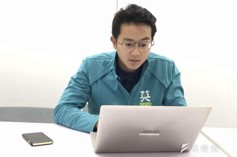 20191130-蔡英文連任競選辦公室發言人廖泰翔。(黃信維攝)