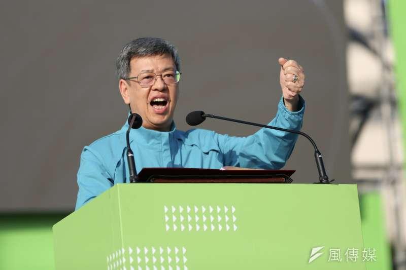 副總統陳建仁(見圖)卸任後將回任中研院特聘研究員,根據規定必須放棄每個月18萬的禮遇金。(資料照,簡必丞攝)