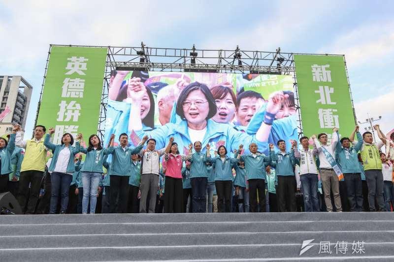 20191201-總統蔡英文1日成立2020總統連任新北市競選總部。(簡必丞攝)