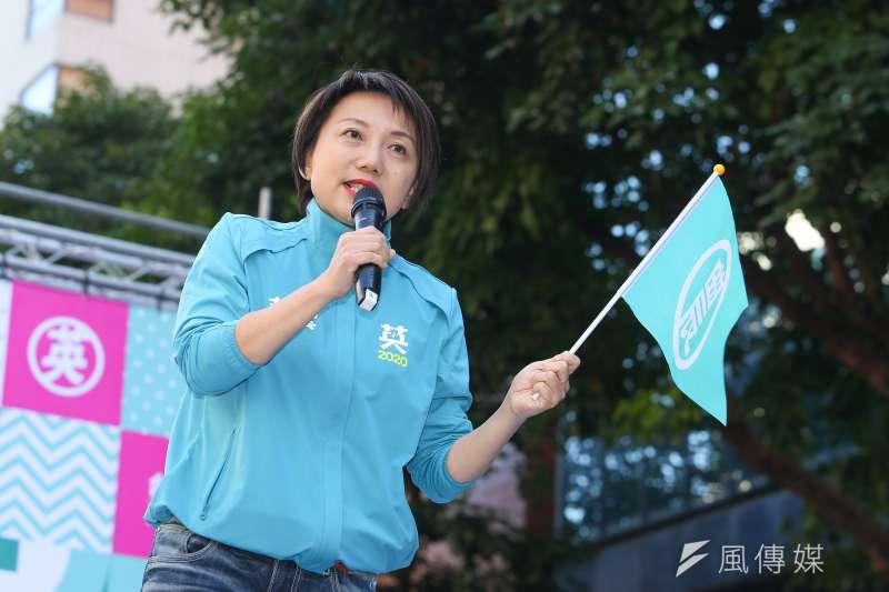 過去親上街頭參與抗爭的范雲(見圖),也以民進黨新科不分區立委的身份,要進入國會發聲。(資料照,顏麟宇攝)