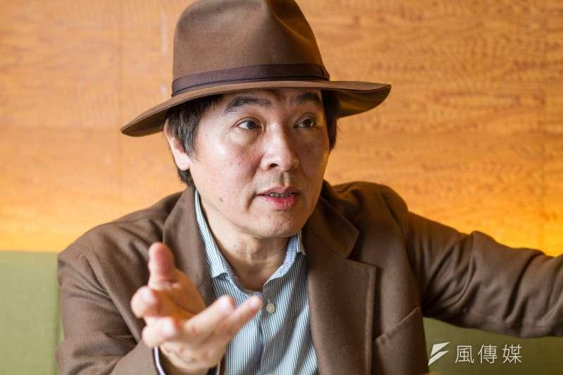 20191202-台北表演藝術中心總監王孟超專訪。(蔡親傑攝)