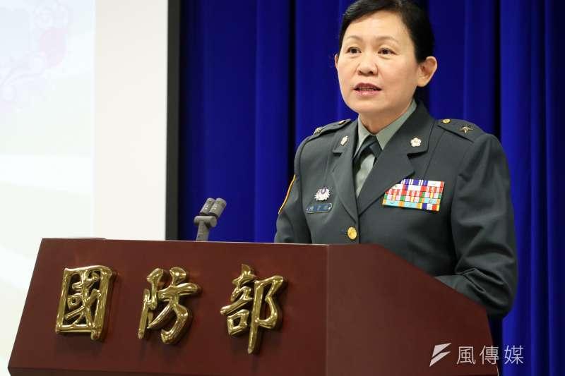 20121202-傳出接任國防大學政戰學院院長,是國軍首位擔任軍團級政戰主任的陳育琳少將。(蘇仲泓攝)