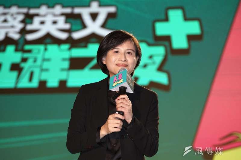 20191203-文化部長鄭麗君3日出席「蔡英文社群之夜」活動。(盧逸峰攝)