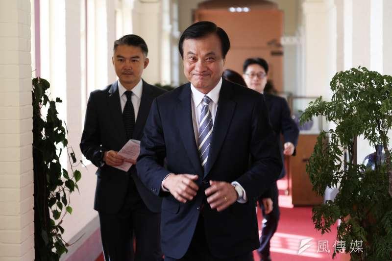 國民黨立委李德維指出,總統府秘書長蘇嘉全(見圖)也曾陷入論文抄襲爭議。(資料照,簡必丞攝)