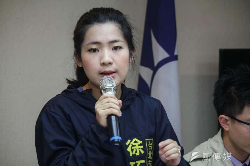 國民黨市議員徐巧芯(見圖)在臉書上表示,想要拿到更多年輕選票,重點在於「誰有能力與年輕人溝通?」(資料照,蔡親傑攝)