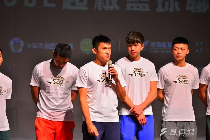 九太科技老將陳靖寰宣布退休,對球隊戰力是一大打擊,但于煥亞表示仍要向前看。 (金茂勛攝)