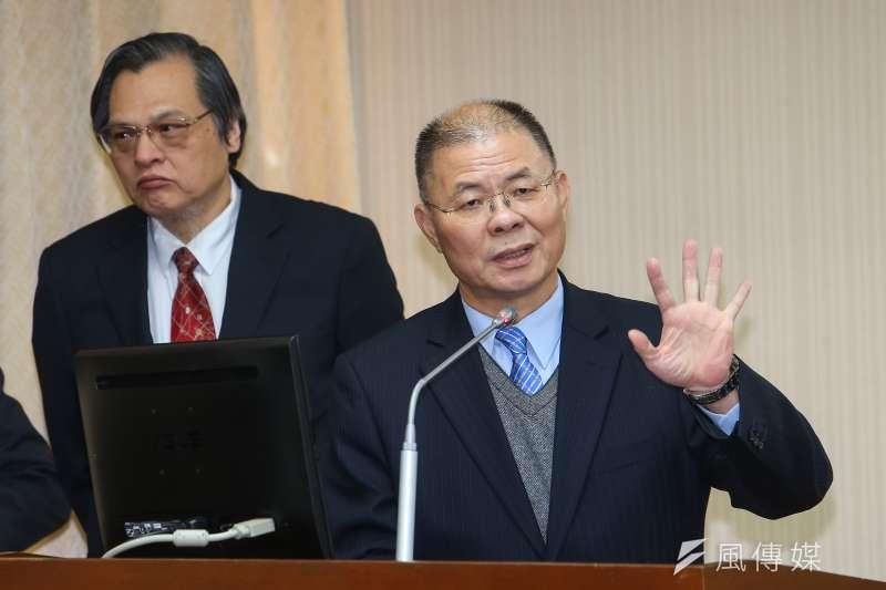 20191205-國安局副局長胡木源5日於內政委員會備詢。(顏麟宇攝)