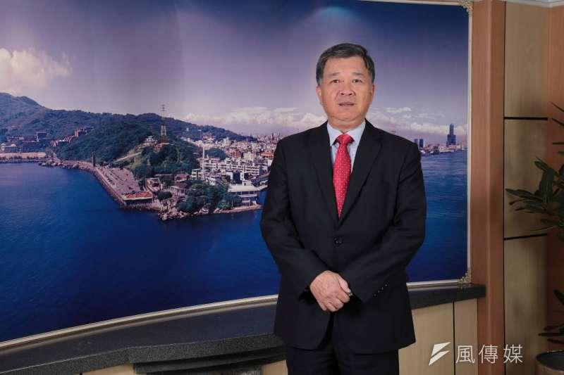 高雄銀行董事長朱潤逢表示,某媒體報導利率部分內容與事實有重大落差。(圖/徐炳文攝)