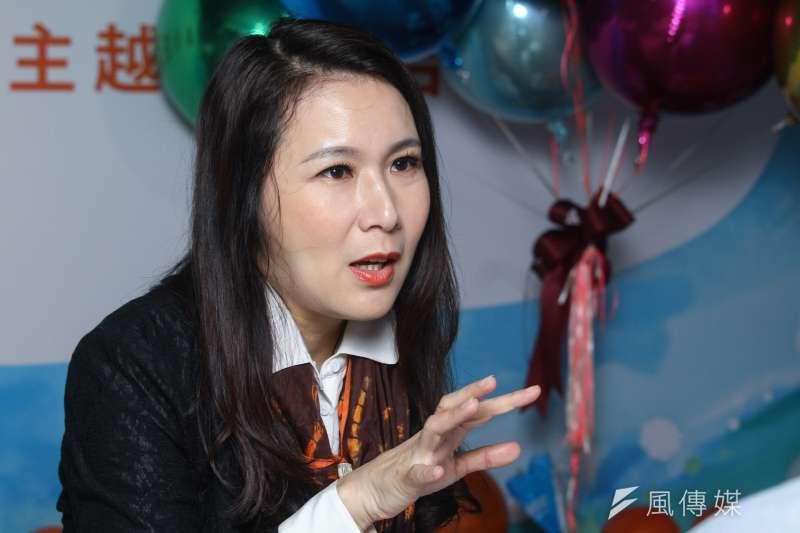 20191206-親民黨不分區立委參選人劉宥彤專訪。(蔡親傑攝)