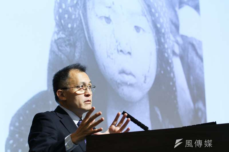 20191208-龍應台基金會邀請國際廢除核武運動委員川崎哲專題演講。(蔡親傑攝)