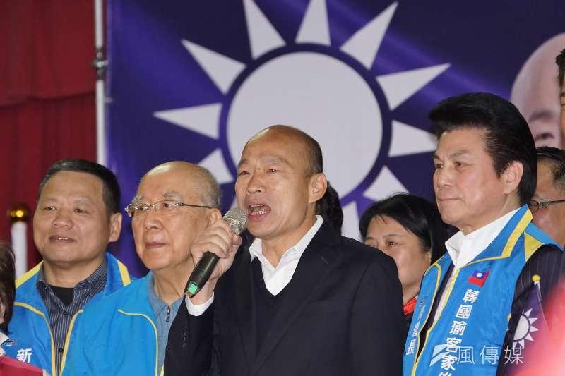 國民黨總統參選人韓國瑜(盧逸峰攝)