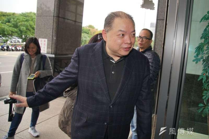 20191210-國策顧問黃承國10日接受媒體訪問。(盧逸峰攝)