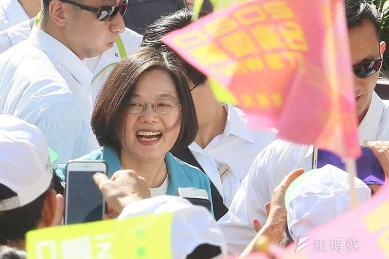 今年初,韓流氣勢正旺,沒有多少人看好剛從縣市長選戰大敗的煙硝灰燼中走出的民進黨及總統蔡英文,有機會贏得2020的執政權。(柯承惠攝)