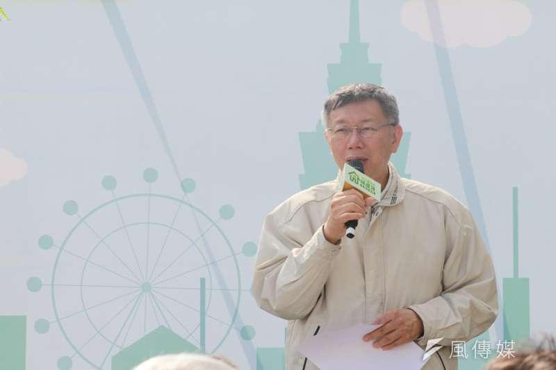 網紅政治退燒,台北市長柯文哲也退燒?(方炳超攝)