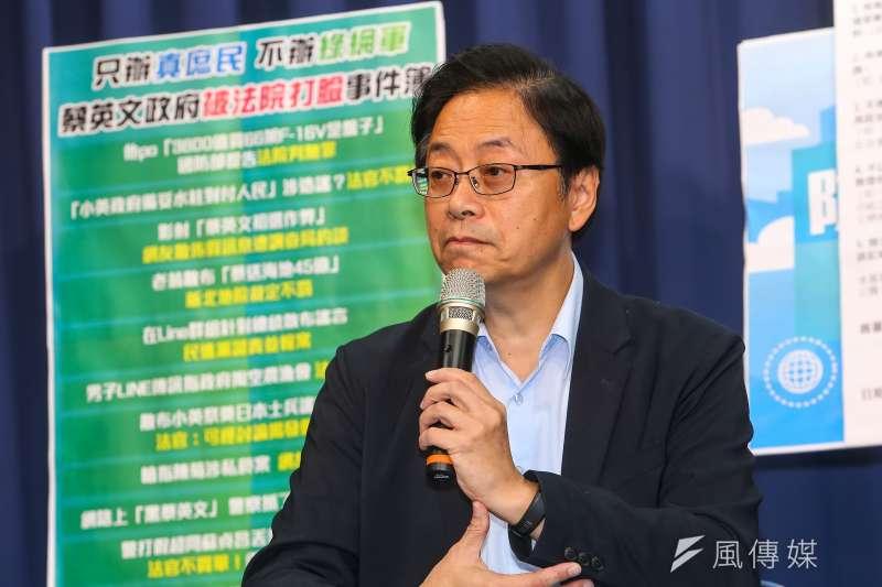 國民黨副總統候選人張善政(見圖)日前指台灣觀光協會會長葉菊蘭拿政府很多補助。(資料照,顏麟宇攝)