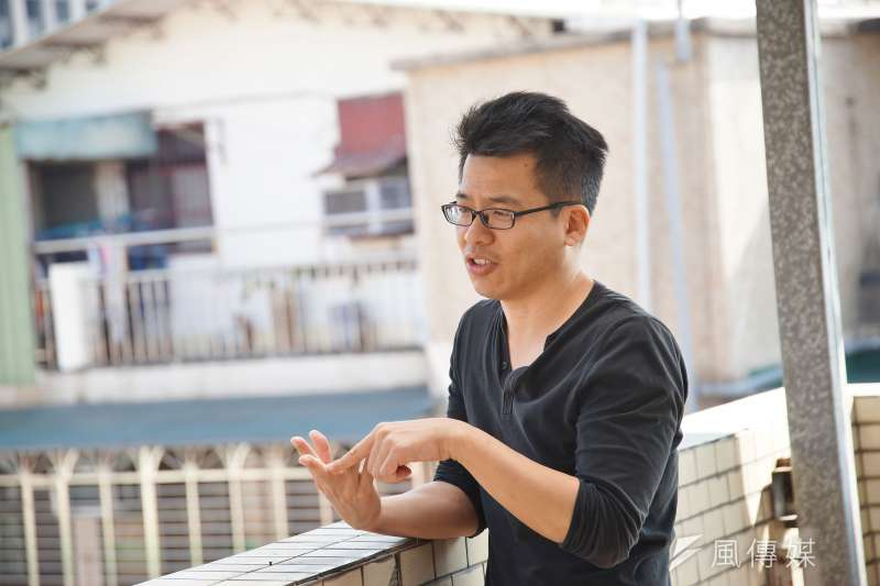 20191216-紀錄片導演李家驊16日接受《風傳媒》專訪。(盧逸峰攝)
