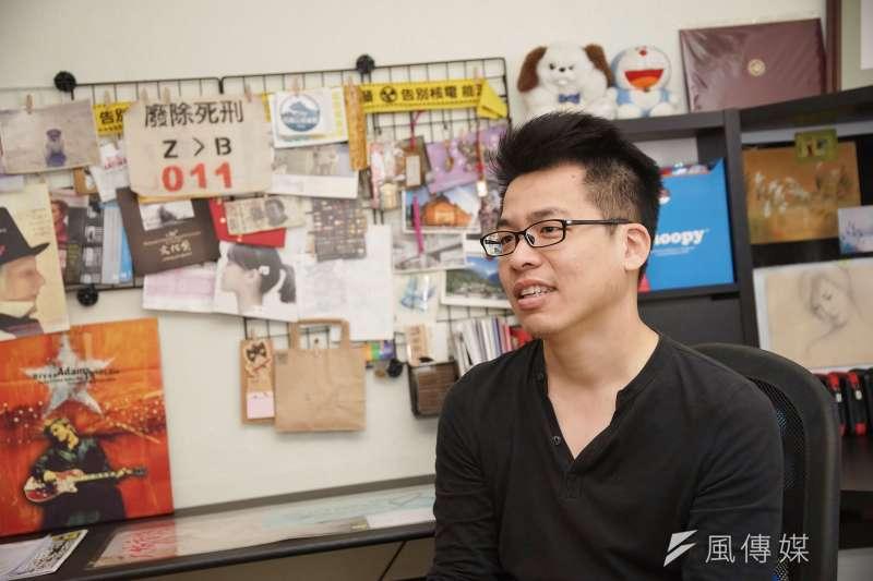 導演李家驊(見圖)花了近6年時間拍攝紀錄片《我的兒子是死刑犯》。(盧逸峰攝)