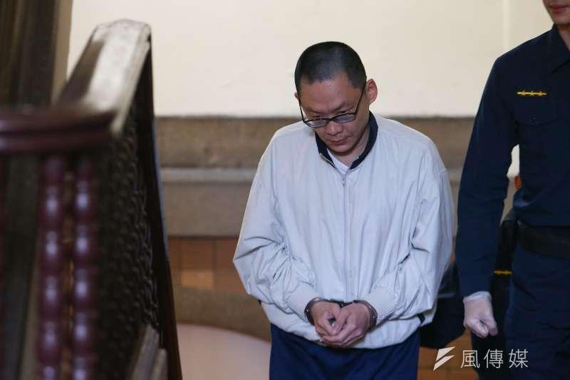 20191216-女童小燈泡案16日更一審開庭,被告王景玉出庭。(顏麟宇攝)