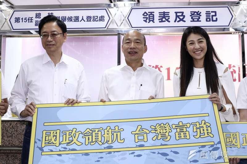 國民黨總統參選人韓國瑜所提出的「觀光立國」政策,期望把台灣打造成「世界最光采多樣的觀光島」。(資料照,陳品佑攝)