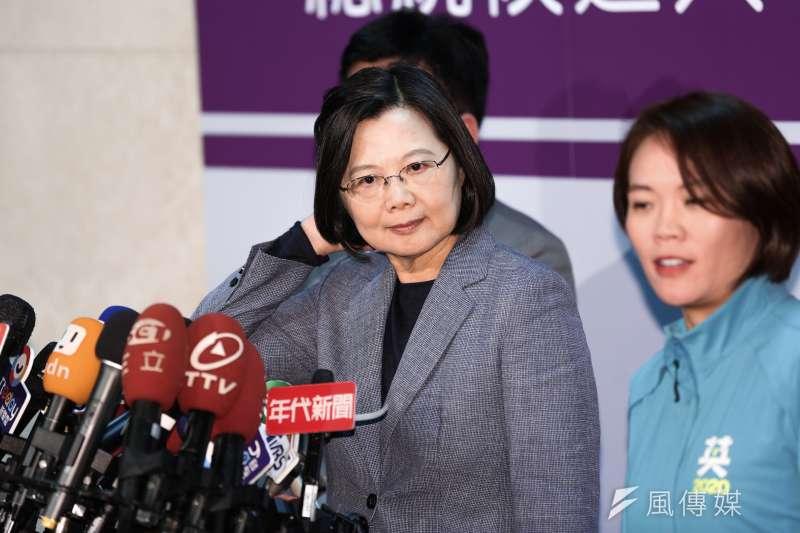 當蔡英文把中國送給了中共的同時,中華民國被她消滅了,台灣在「一個中國」框架中舉世獨一無二的戰略地位被她糟蹋了,更有甚者,把台灣變成了中華人民共和國叛亂待服的地區。(資料照,簡必丞攝)