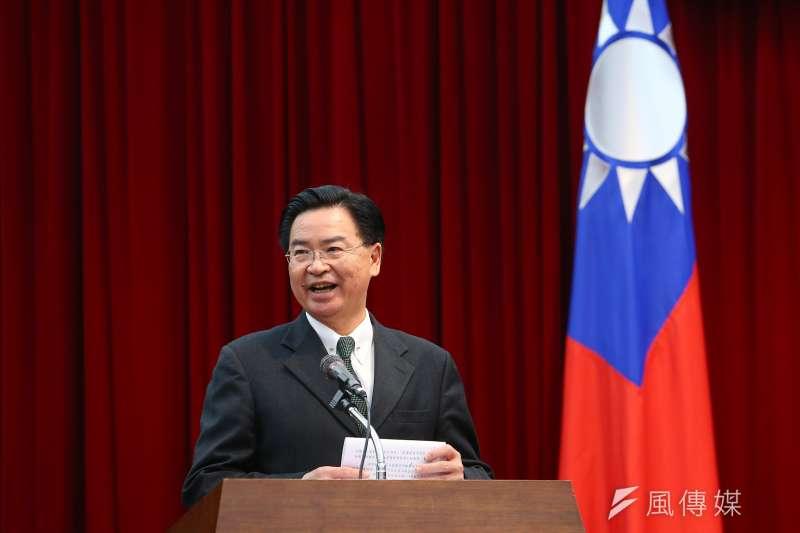 針對中國驅逐美國媒體記者,外交部長吳釗燮推文稱,歡迎來台灣駐點。(資料照,顏麟宇攝)