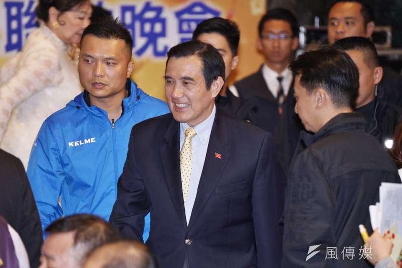 前總統馬英九為國民黨立委輔選時表示,蔡英文若連任,未來電價會漲五成。(盧逸峰攝)