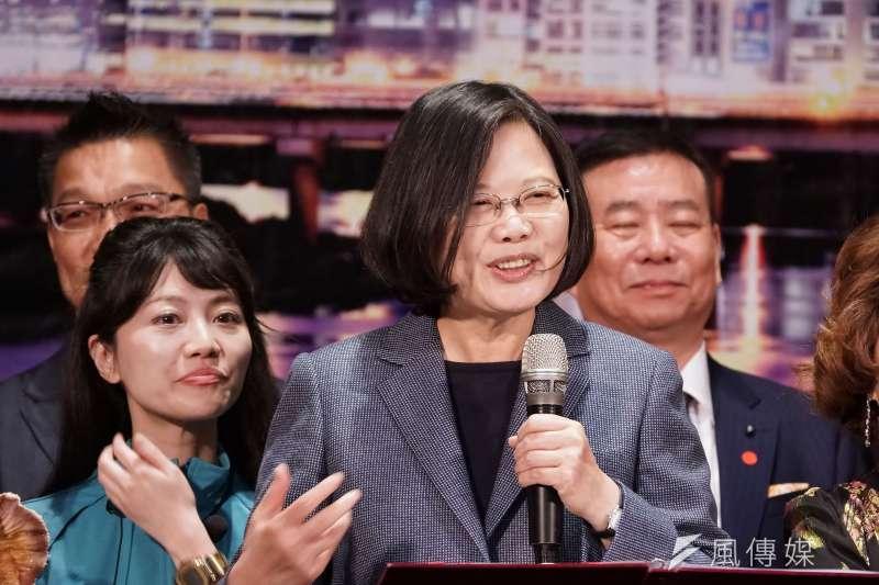台北市長柯文哲妻子陳佩琪22日在臉書回應總統蔡英文(見圖),直指蔡英文把個人利益擺在國家利益之前。(資料照,盧逸峰攝)