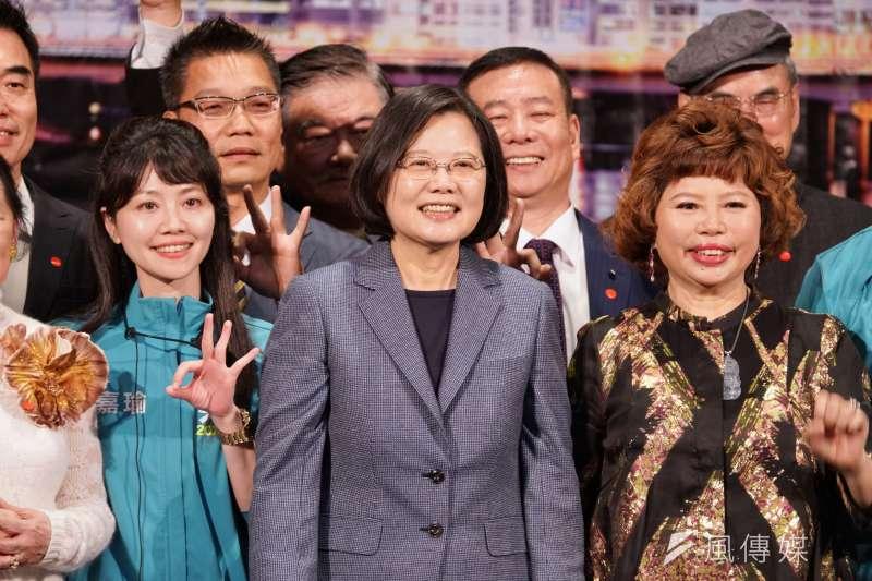 蔡英文與民進黨的反滲透法將陷臺灣於鎖國自閉自殘絕境。(資料照片,盧逸峰攝)