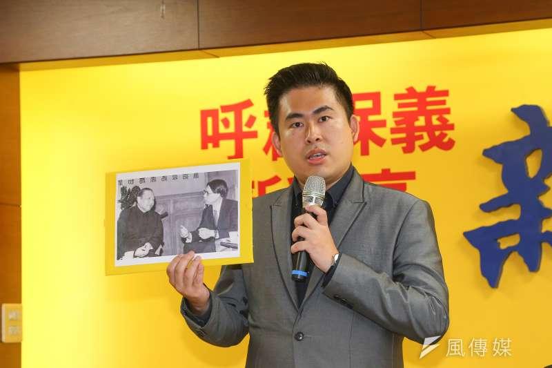 新黨發言人王炳忠分析,罷免陳柏惟CP值較高,因為陳柏惟是11萬餘票當選的,現在罷免只需要7萬3000票。(資料照,顏麟宇攝)