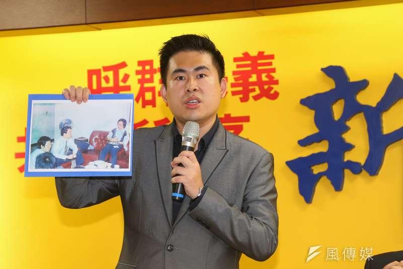 針對呂偉提案刪《兩岸條例》中的「國家統一」,新黨發言人王炳忠(見圖)在臉書表示「台灣問題已來到比陳水扁時代更危險的境地」。(資料照,顏麟宇攝)