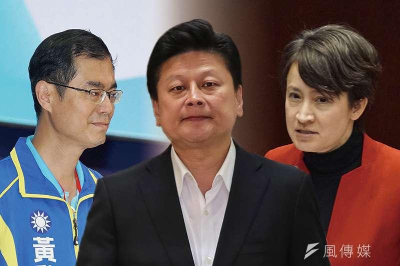 《台灣指標民調》公布最新民調,花蓮立委選舉誰的支持度最高?圖為候選人黃啟嘉(左起)、傅崐萁、蕭美琴。(資料照,盧逸峰、顏麟宇攝/影像合成:風傳媒)
