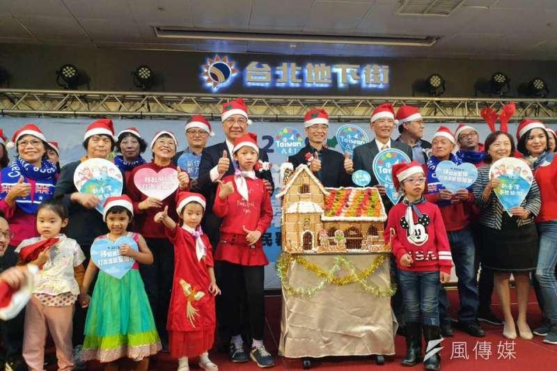 內政部長徐國勇參加「移起過聖誕 打造溫馨臺灣家」活動,與新住民和新二代同歡。(圖/新住民全球新聞網提供)